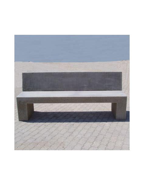 panchina cemento panchina con schienale in cemento per arredo urbano colore