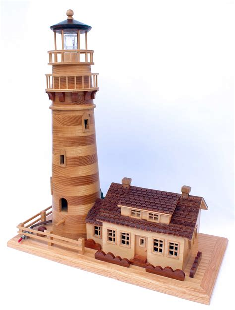 lighthouse home plans new england lighthouse birdhouse woodworking plan