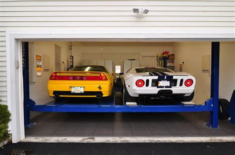 Garage For Cars Pin Image For Car Lift Garage Parking Lift Wl G30 On Pinterest