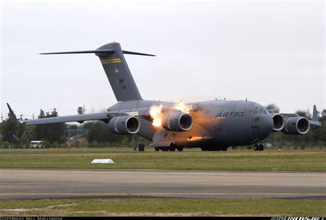 stall flugzeug boeing c 17a globemaster iii usa air aviation