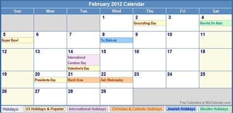 Feb 2012 Calendar Errolcardbe February 2012 Calendar Printable