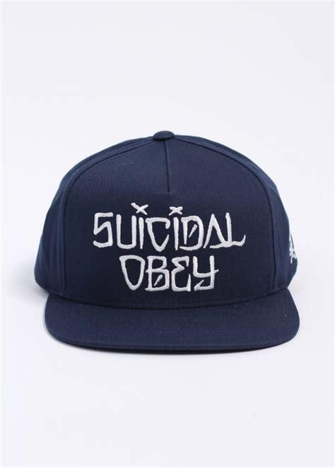 Vans Suicidal Tendencies Navy 3 obey x suicidal tendencies suicidal snapback cap navy blue