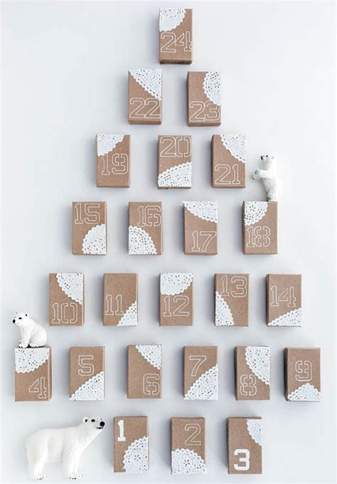 Decorative Paper Clips Diy Advent Calendars For A Fun Countdown To Christmas