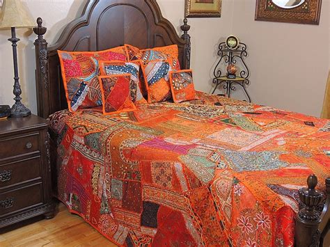 indian style comforters beautiful india style bedding handmade 7p bedspread shams