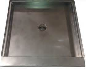 stainless steel shower pan also used for showers