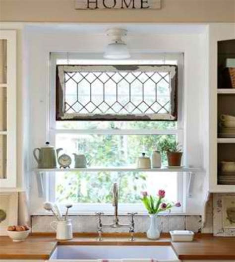kitchen window shelf ideas kitchen window shelf and stained glass hanging house