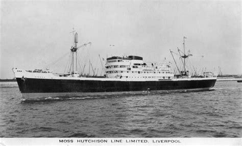 moss hutchison line ships photographs