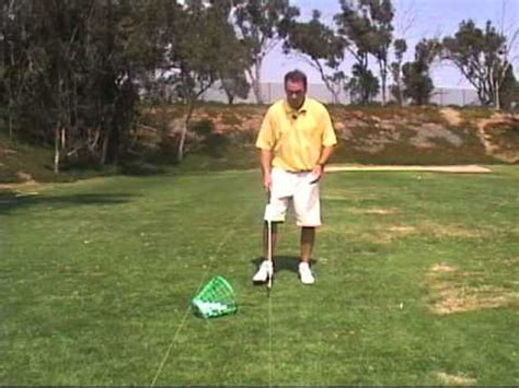 golf swing impact drills golf swing impact drill toe up to toe up youtube