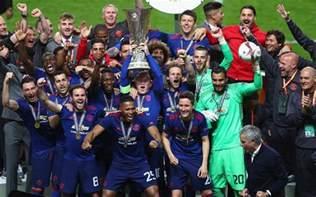2017 europa league final ajax 0 manchester united 2 jose mourinho s team make