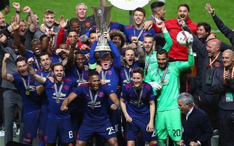 2017 Europa League Final | ajax 0 manchester united 2 jose mourinho s team make