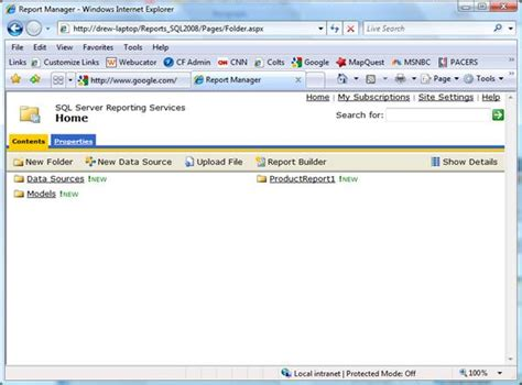 ssrs sle reports 2008 r2 sql server 2008 r2 reporting services