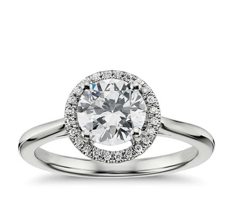 27 extraordinary halo engagement ring and wedding band