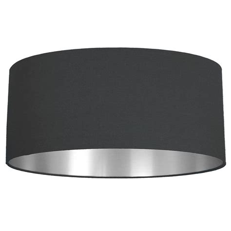 silver l with black shade brushed silver lined l shade choice of colours by quirk