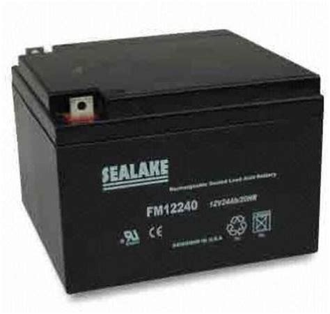 Mba Service Battery by Sealake Emergency Lighting