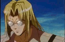 Kaiyodo Trigun Vash The Stede vash the stede bros gif find on giphy