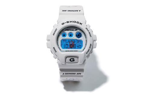 G Shock Dw 6900 White bape x casio g shock dw 6900 white