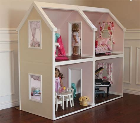 dolls house plans digital doll house plans for american girl dolls 4 rooms not actual