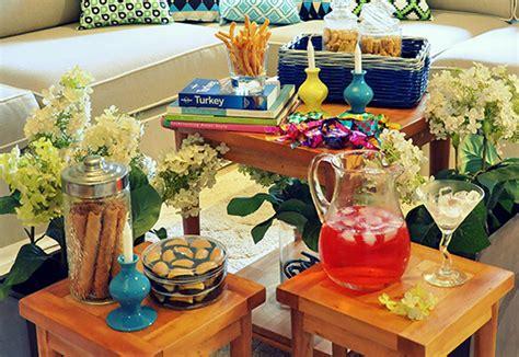 tips  membuat meja ruang tamu  cantik ketika lebaran