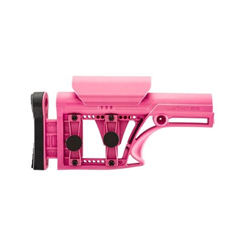 Luth Ar Mba 1 Install by Luth Ar Ar 15 Modular Buttstock Assembly Pink