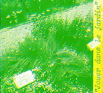 Jouer Dans Le Jardin by Quot Jouer Dans Le Jardin Quot Bordeaux Capc 1978 Librairie