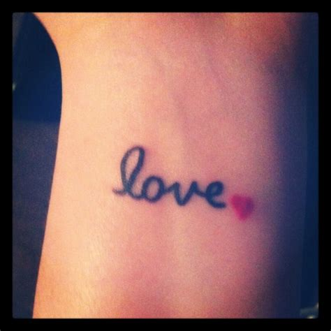 one love wrist tattoos 78 tattoos designs for your wrists