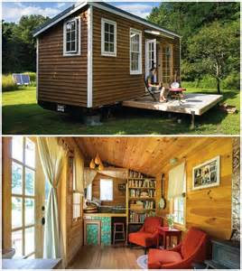 tiny library book storage in tiny houses
