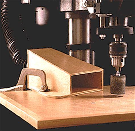 idea shop   drill press dust collector