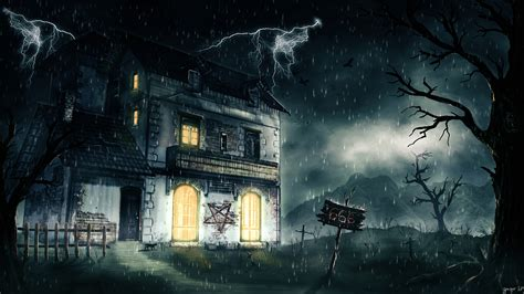 wallpaper dark house house full hd wallpaper and background 2560x1440 id 677214