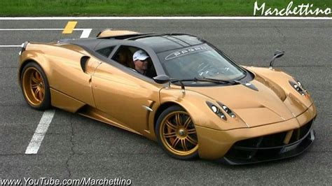 pagani huayra gold golden pagani huayra the garage