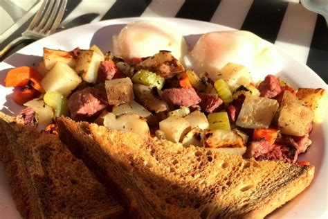 Brick Wall Kitchen Brookline photo corned beef hash from brick wall kitchen brookline