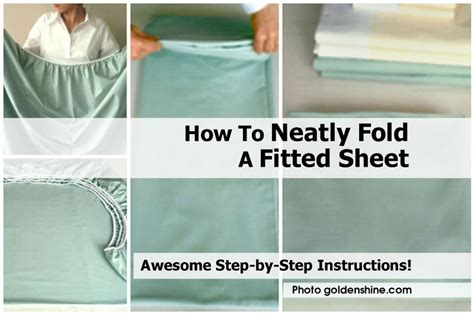 how to fold a fitted bed sheet how to neatly fold a fitted sheet