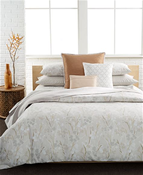 calvin klein bed set calvin klein blanca 3 pc bedding collection 100 cotton