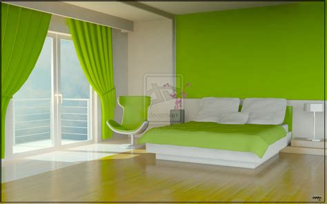 Green Interior Design Green Color Bedrooms Interior Design Ideas Interior Design Interior Decorating Ideas
