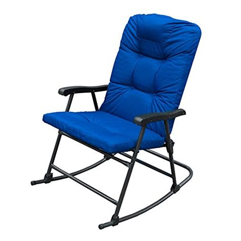 Folding Lounge Chair Indoor by Sunlife Rocking Folding Lounge Chair On Patio Porch Indoor