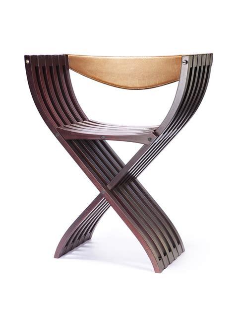 chaise curule paulin galerie alain challier