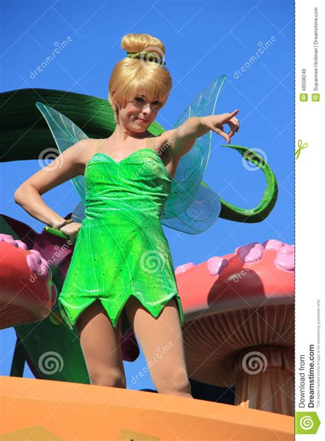 Disney S The Miracle Worker Free Tinker Bell At Disneyland Editorial Stock Photo Image Of Beautiful 48508248