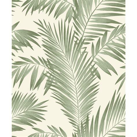 Grey Palm Wallpaper
