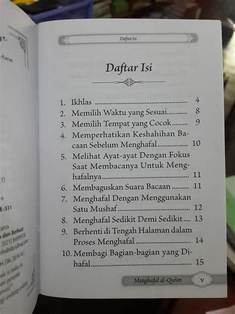 Cara Menghafal Juz Amma Dengan Mudah Dan Praktis buku saku 20 langkah agar mudah menghafal al qur an toko