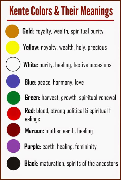 colors and meanings arts and crafts symbols and meanings