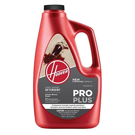 best upholstery cleaner solution hoover ah30051 proplus professional strength carpet