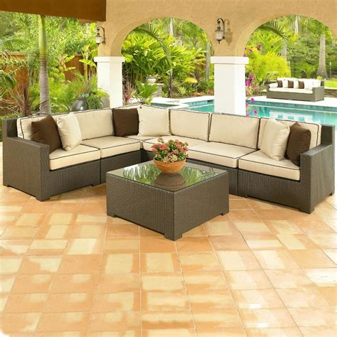 awesome outdoor sectional furniture outdoor sectional