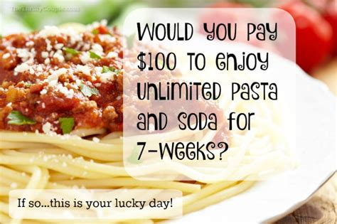 olive garden unlimited pasta pass for 100 includes