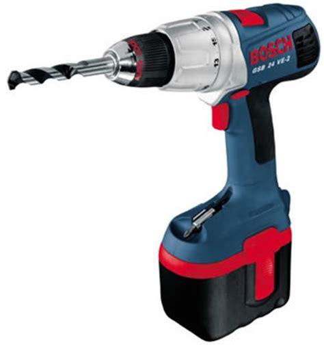 Cctv Gsb bosch cordless combi drill gsb 24 ve 2 24 volt 2 6ah