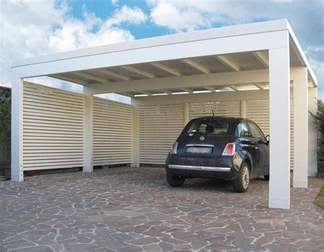 tettoia moderna tettoie in legno moderne box auto x a due falde with