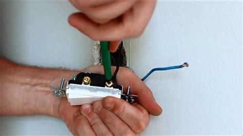 installing a light switch how to install a light switch youtube