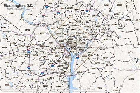 dc zip code map 26 lastest zip code map washington dc swimnova