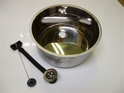 round sink bowl round insert 360mm sink bowl with continental overflow