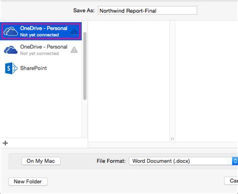 Saving Documents On Mac