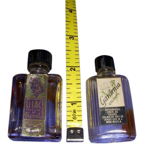 Another Fragrance From Kathy vintage pair of mini perfume bottles from