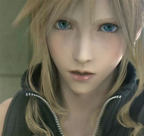 makeup for feminine men cloud from final fantasy vii sure looks pretty with make